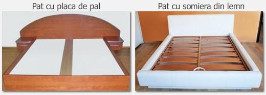 Placa de pal versus Somiere din lemn